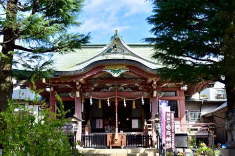 今戸神社-本殿
