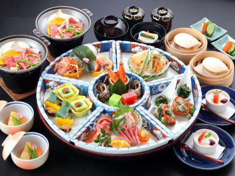 稲佐山観光ホテル料理