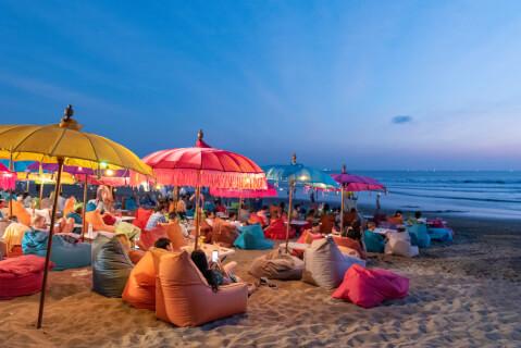 クタビーチ インドネシア バリ島 観光 サンセット