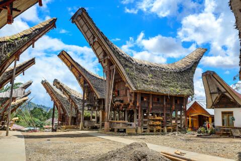 インドネシアの人気観光スポット、タナトラジャ