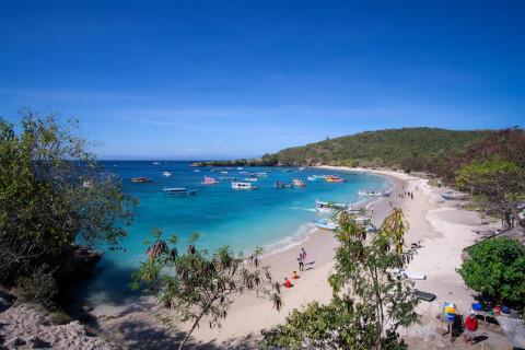 インドネシアで人気の観光スポット、ロンボク島
