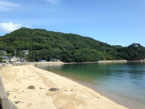 因島_砂浜