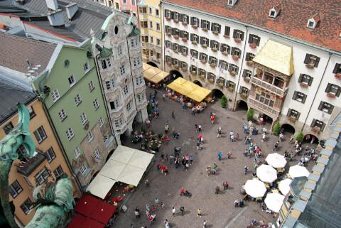インスブルック旧市街