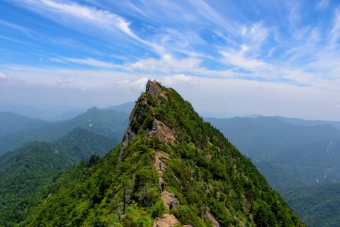 日本 絶景 愛媛 石鎚山