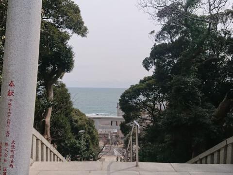 磯前神社第二の鳥居