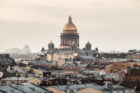 ロシアのおすすめ観光スポット、聖イアサク大聖堂