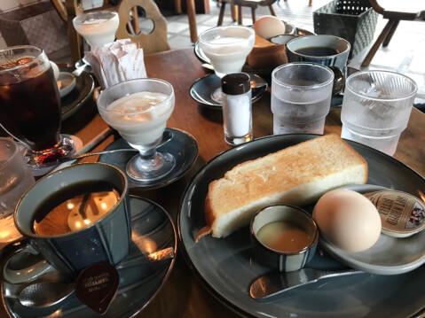 五十鈴川カフェ モーニング