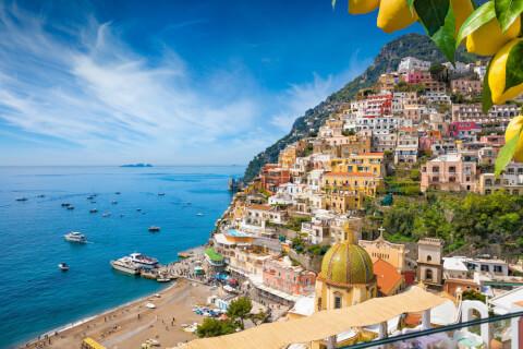 イタリアのおすすめ観光地、南イタリアのカンパーニア州