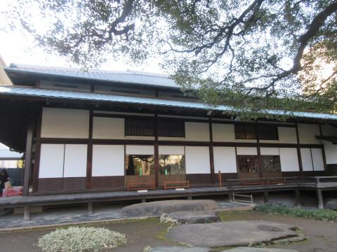 上野にある岩崎邸の和館