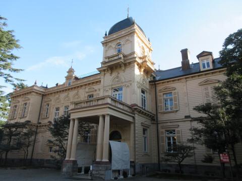 上野の岩崎邸の洋館