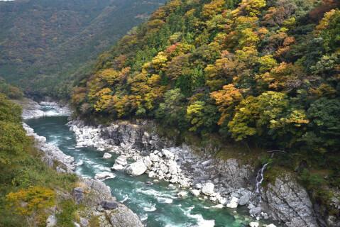 日本 絶景 徳島 祖谷渓