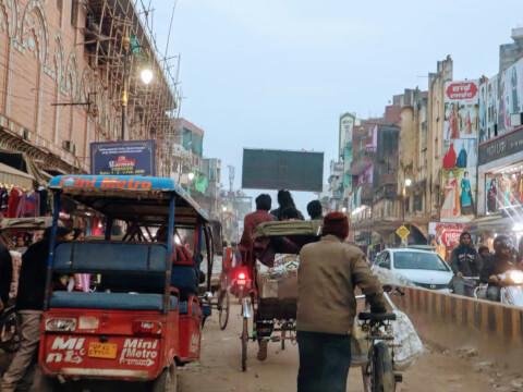 ジャイプール 市内交通 リキシャー