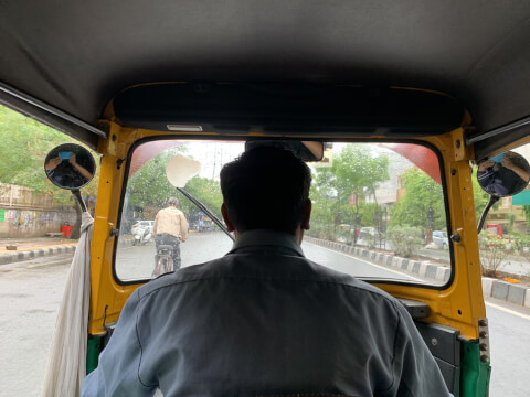 オートリキシャー オートリクシャー インド