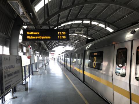 インド 鉄道 デリー