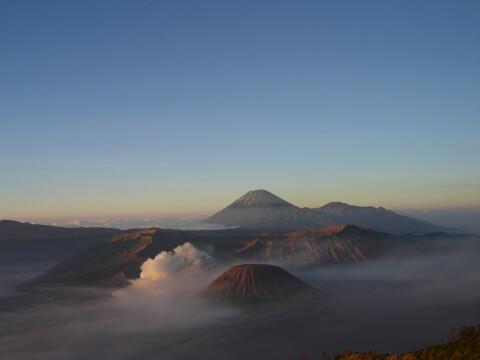 プロモ山 ジャワ島  インドネシア