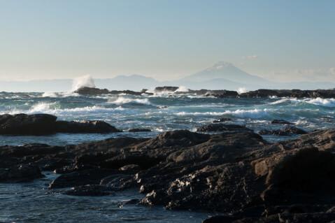 城ケ島 海岸線