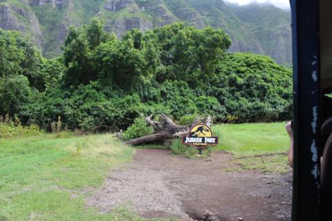 ハワイ ホノルル クアロアランチ ジュラシックパーク ロケ地