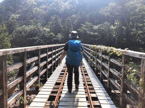 屋久島 小杉谷橋 観光
