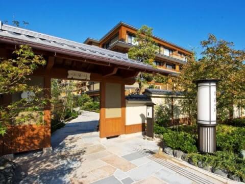 京都 旅館 宿泊 嵐山温泉 花伝抄
