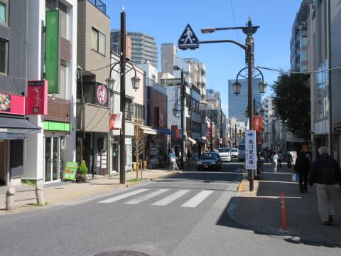 神楽坂通り商店街 デート