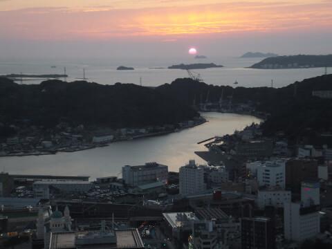 海峡ゆめタワーからの景色