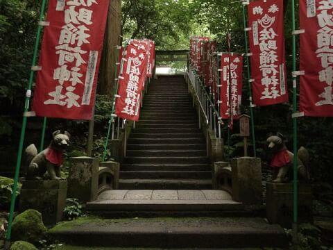 佐助稲荷_鎌倉_観光_旅_名所_神社_食べ歩き_景色