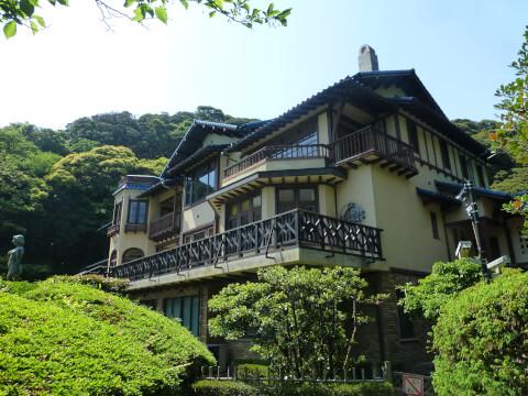 鎌倉文学館-外観