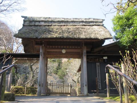 東慶寺 山門