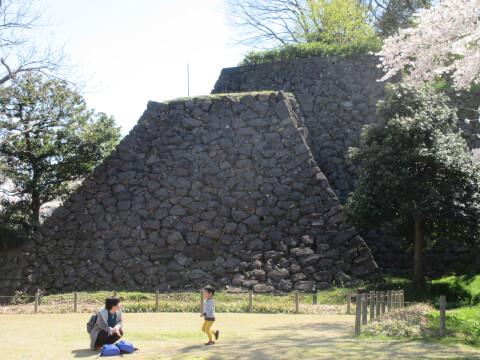 金沢城公園 石垣