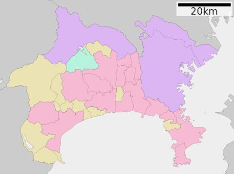 神奈川地図