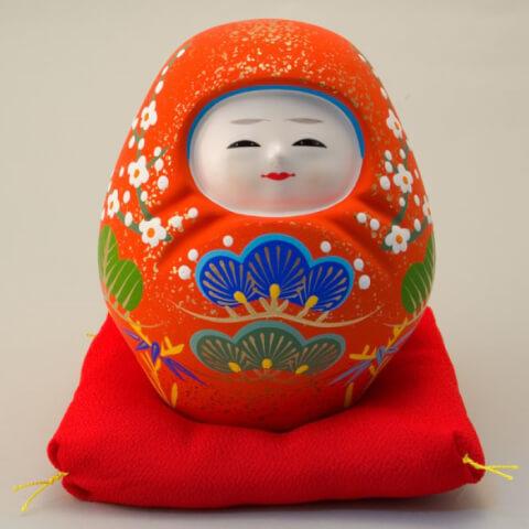 加賀八幡起き上り人形