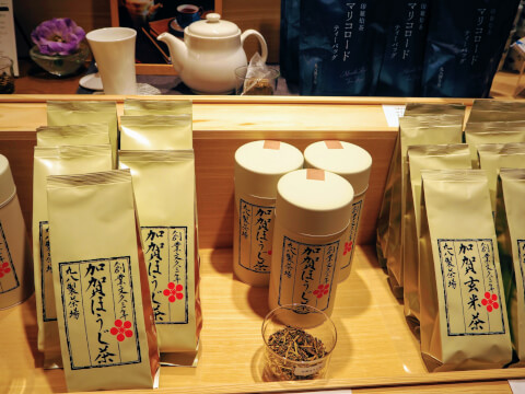 加賀棒茶 丸八製茶場 金沢百番街