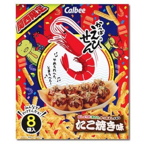 かっぱえびせんたこ焼き味 大阪 お土産