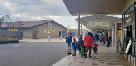 軽井沢ショッピング