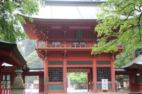 楼門 鹿島神宮