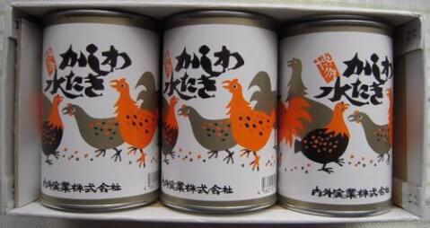 かしわの水炊き缶