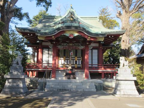 柴又の柴又八幡神社