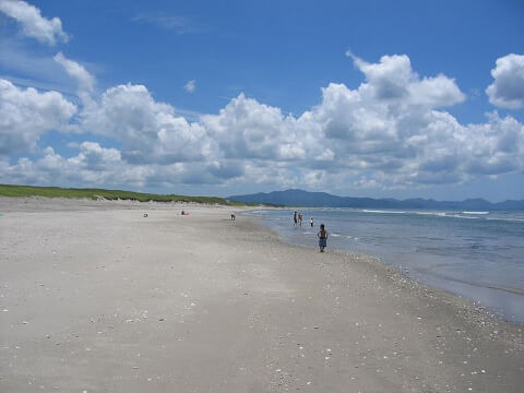 鹿児島観光吹上浜