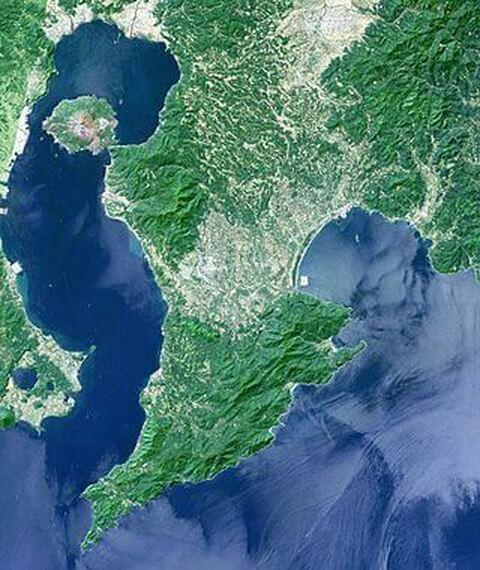 鹿児島観光錦江湾