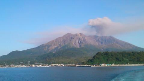 鹿児島観光桜島