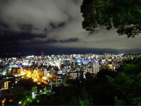 鹿児島観光城山