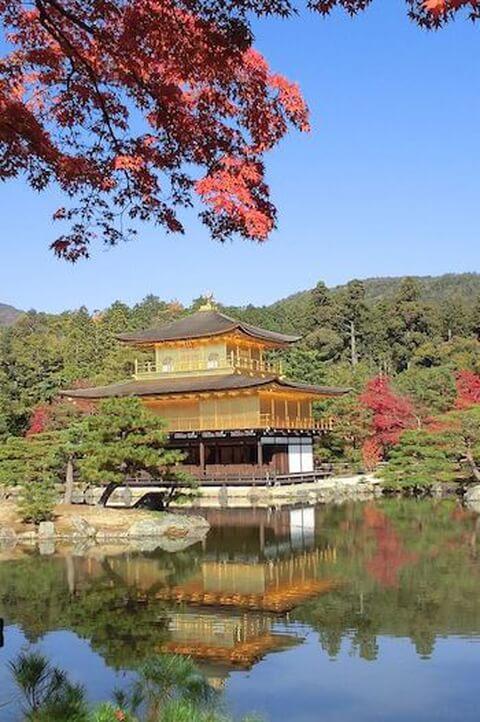 京都の代名詞金閣寺見どころや歴史周辺のおすすめ観光