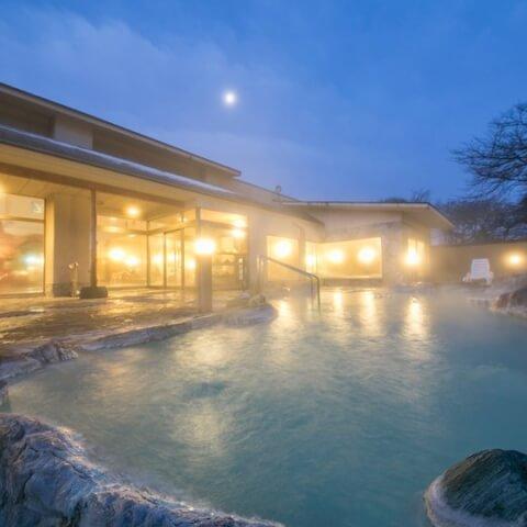 濁り湯の宿露天風呂