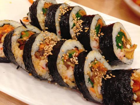 キンパ 韓国料理