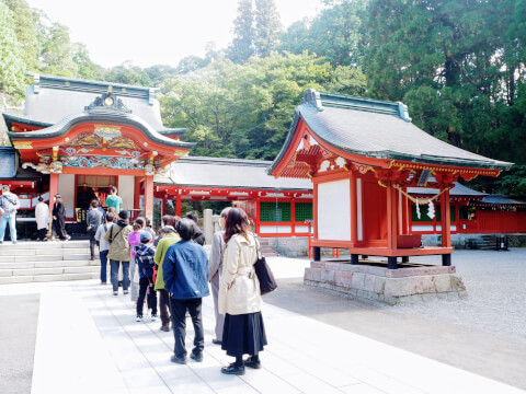 霧島神宮 社殿