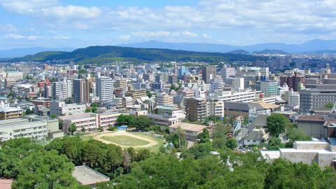 熊本観光 立田自然公園