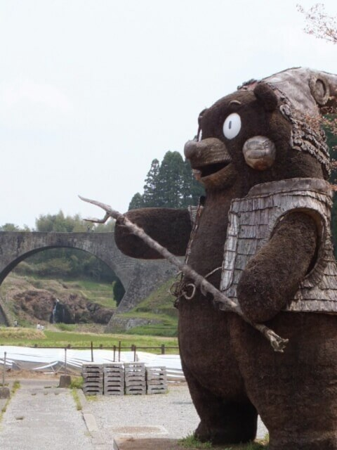 熊本観光 通潤橋