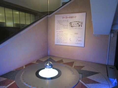 フーコの振り子 国立科学博物館