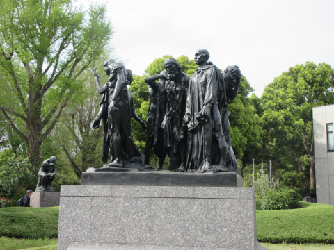 国立西洋博物館 銅像