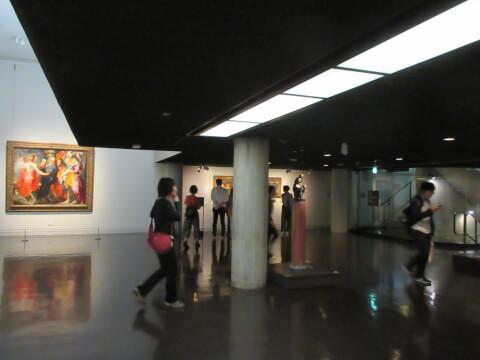 国立西洋美術館 照明 デート